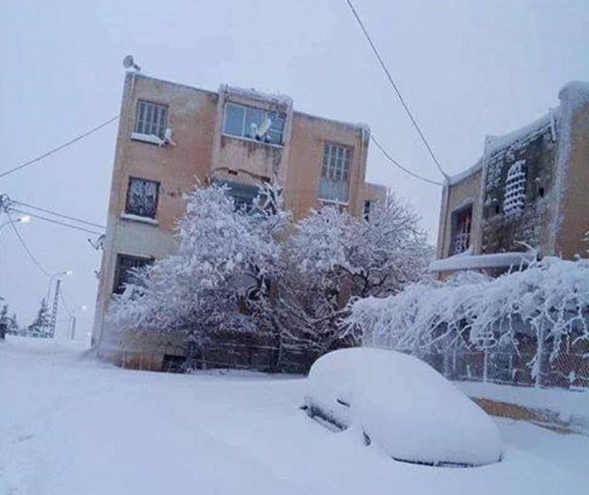 Neve in Algeria, foto Bilal Benkaddour
