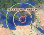 Terremoto nel Mediterraneo orientale