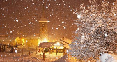 Calo delle temperature, piogge e neve in Italia