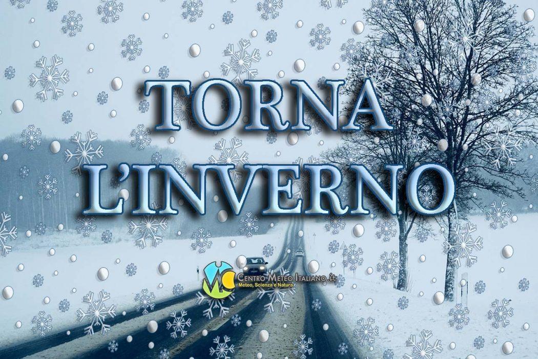Freddo e neve in arrivo in Italia