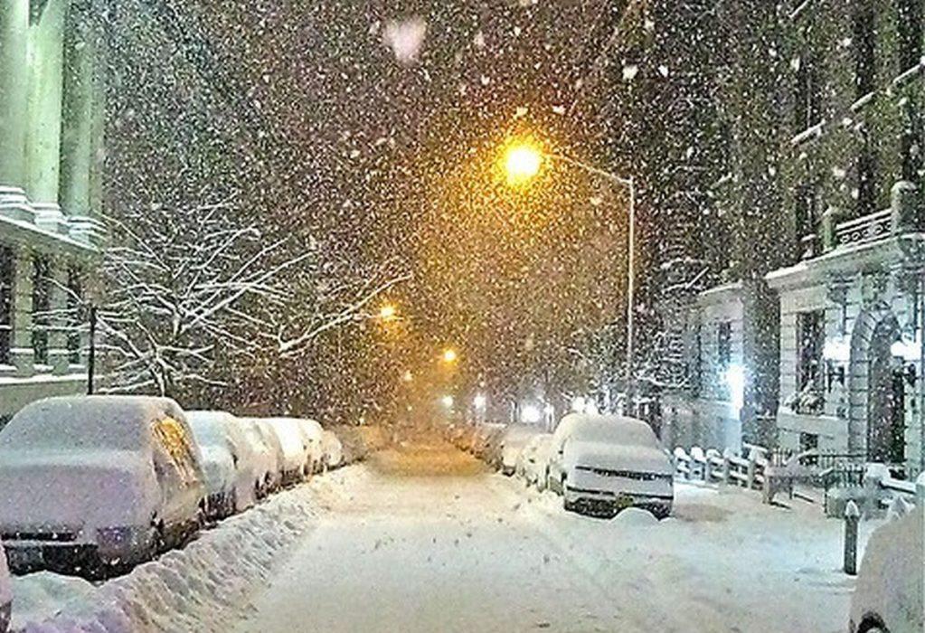 Maltempo: tempora, grandinate e nevicate a quote basse in arrivo. Foto repertorio