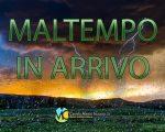 Aprile inizia con il maltempo, previste piogge e temporali anche intensi
