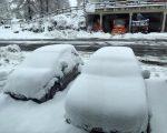 Neve fresca alle sciovie Usseglio di Pian Benot (1600m), foto Andrea Poma