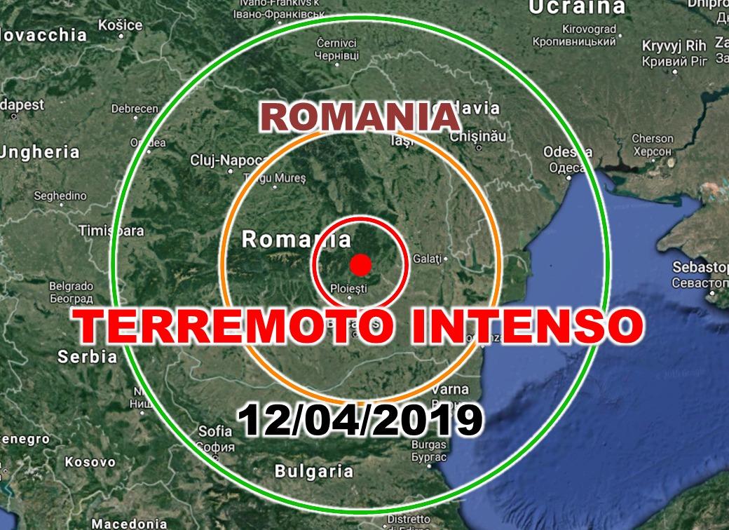 Terremoto in Romania