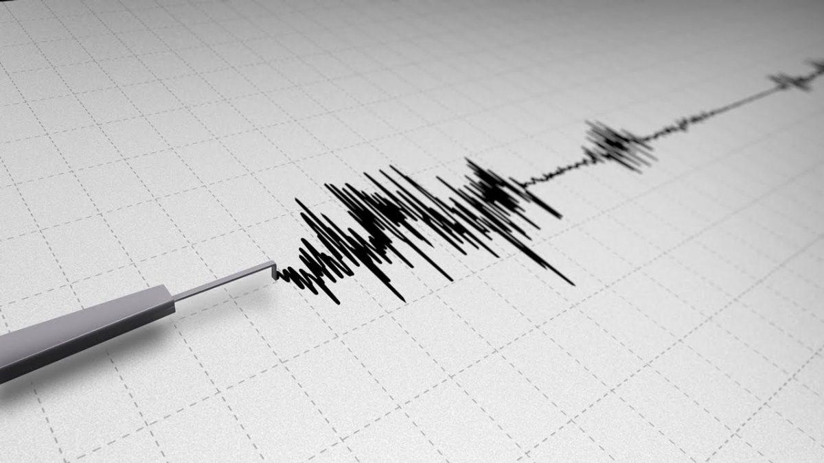 Terremoto in mare