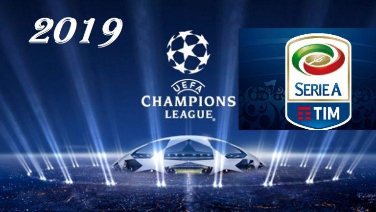 Lotta Champions Serie A 2019: calendario Inter, Milan, Roma, Atalanta, Lazio, Torino   Previsioni Meteo Italia 17 aprile