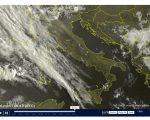 Nuvolosità in aumento e piogge in arrivo - sat24.com