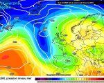 Perturbazione in avvicinamento nella giornata di Pasquetta secondo il modello ECMWF - meteociel.fr