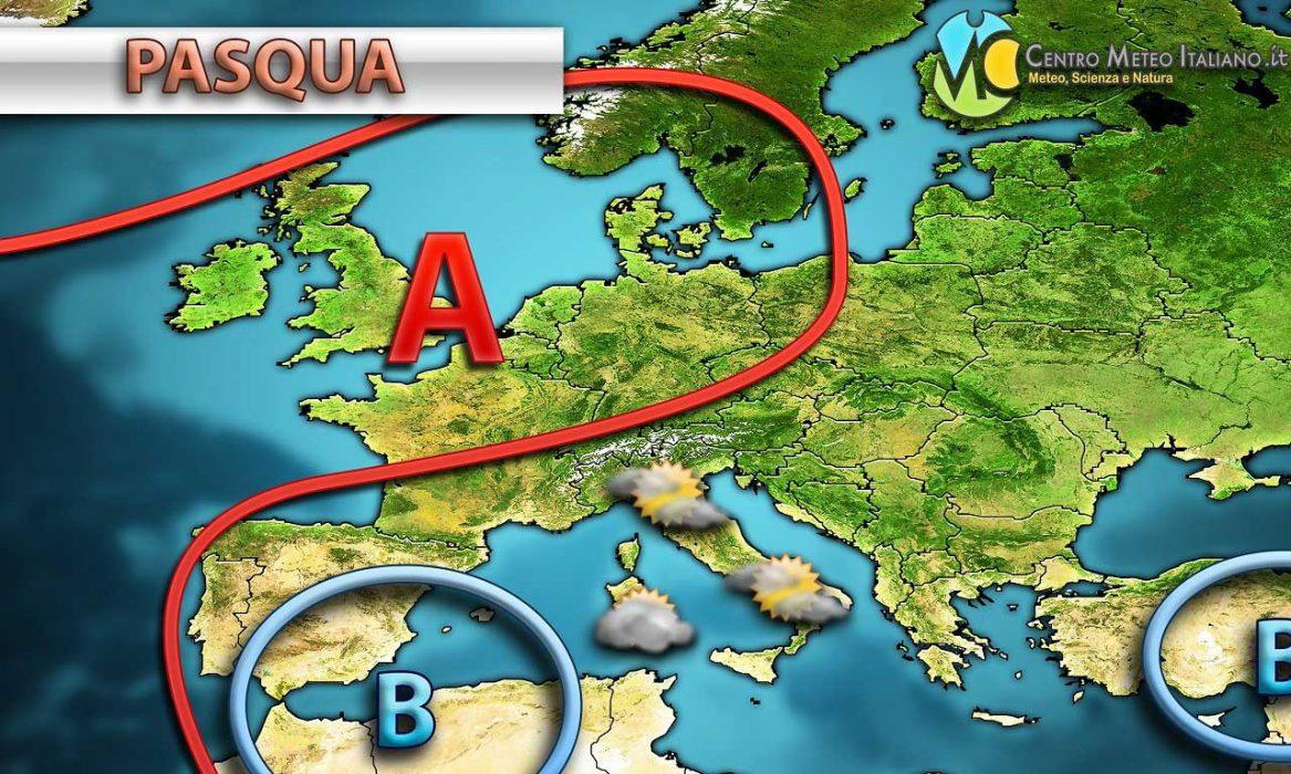 Nuvolosità in aumento per la giornata di Pasqua sull'Italia ma con condizioni meteo ancora generalmente stabili. Peggiora invece in vista di Pasquetta.