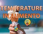 Clima estivo in arrivo in Italia meridionale.