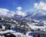 Nevicate abbondanti in arrivo sulle Alpi. Sestriere in foto di Dario Castelletti.