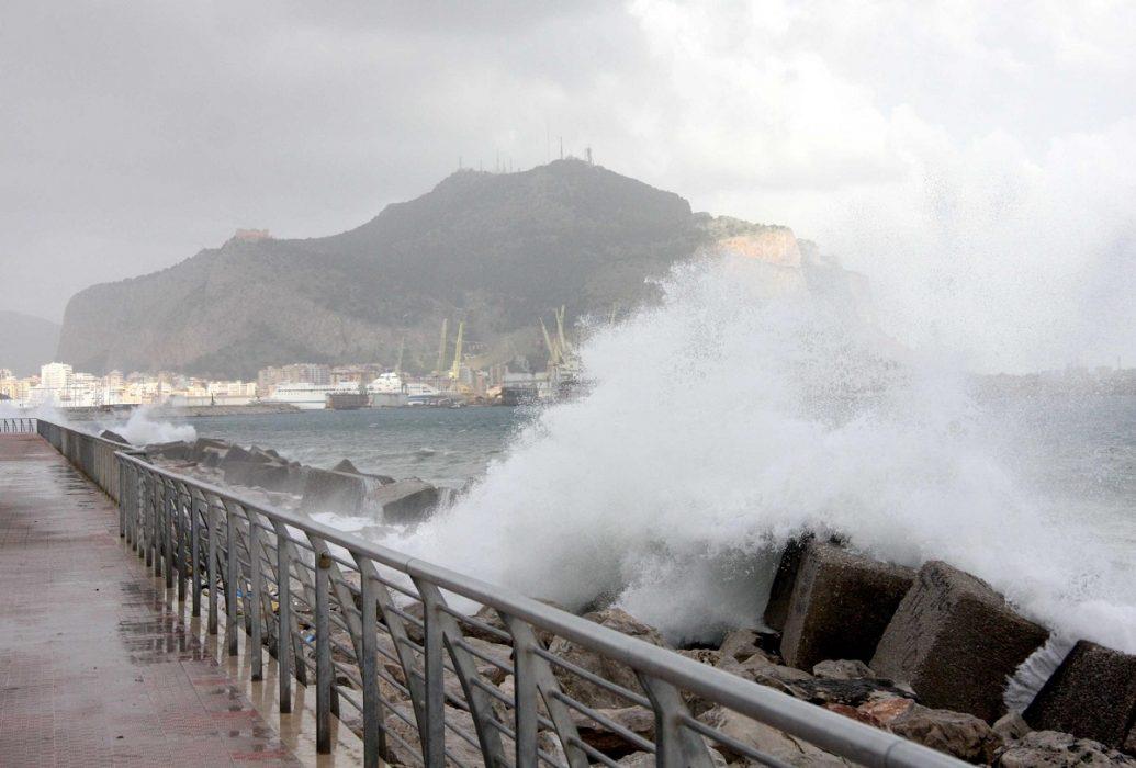 Forte vento di Scirocco in Sicilia, Sardegna e Puglia. Fonte palermo.gds.it