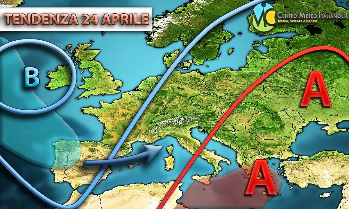 Maltempo in queste ore al nord Italia con piogge anche di forte intensità.