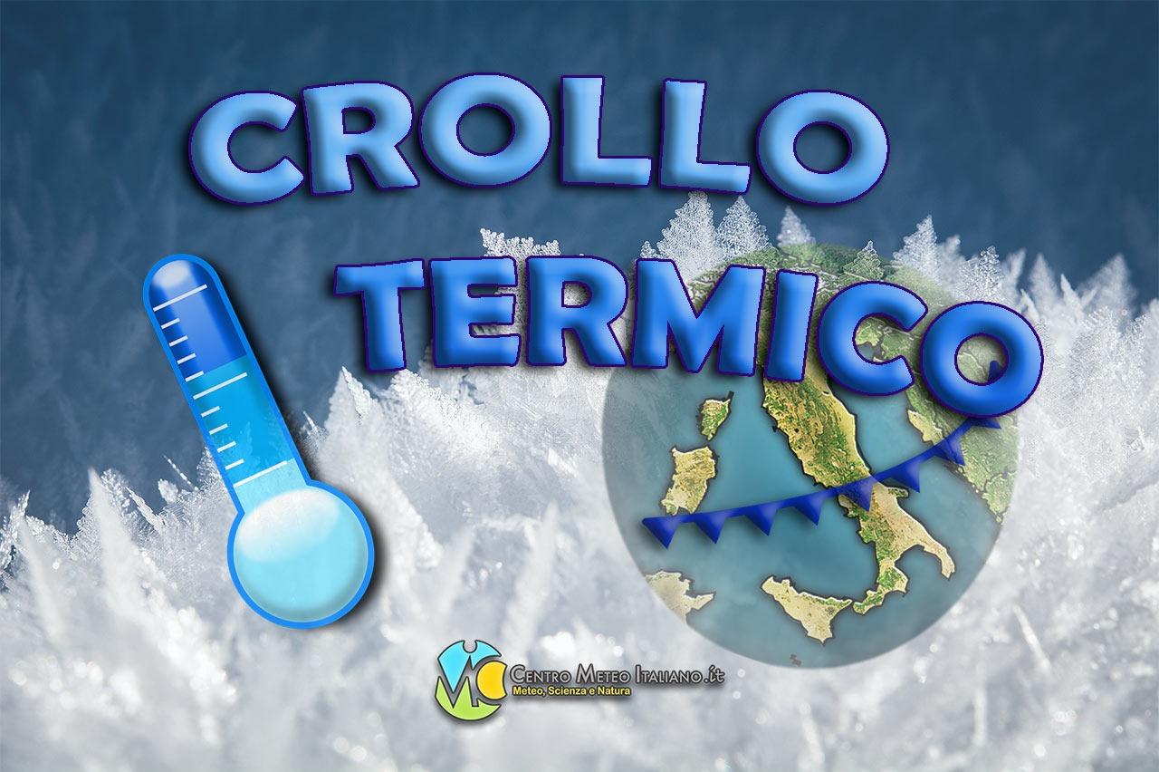 Calo termico previsto in Italia durante l' ultimo weekend di Aprile.