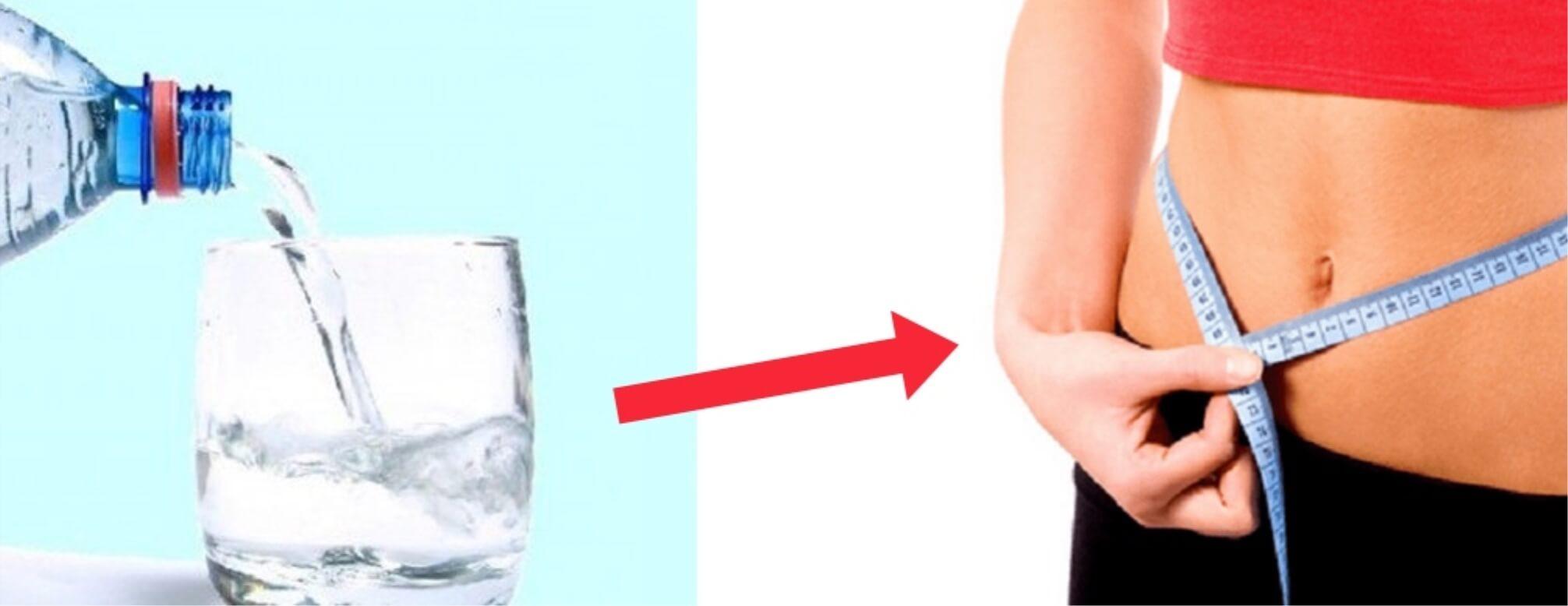quanta acqua dovrei bere per una perdita di peso ottimale
