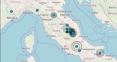 Terremoti in tempo reale oggi dati ingv italia e mondo for Ingv lista terremoti di oggi