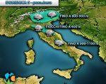 Meteo Italia: colpo di coda dell' inverno con neve e gelo tardivo.