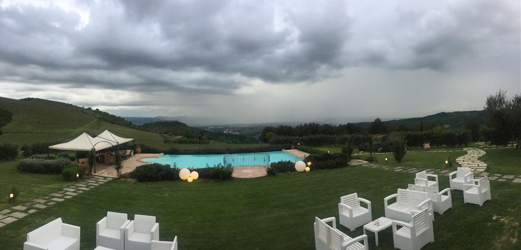 Ondata di maltempo in Italia con piogge, temporali e nevicate. Foto RS23