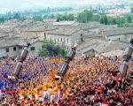 Previsioni meteo a Gubbio in occasione della festa dei ceri. Foto umbriadomani.it