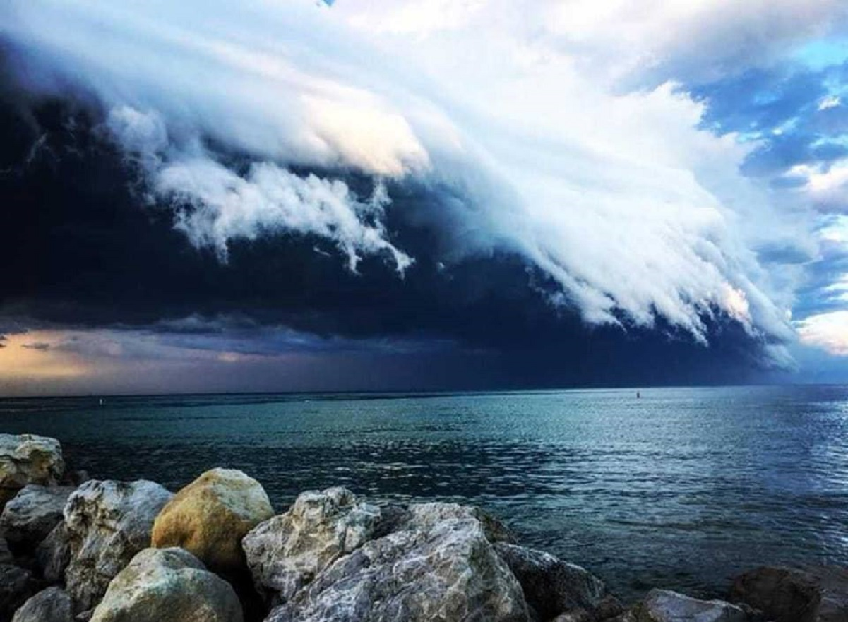 Temporali sempre probabili per il proseguo di maggio in tutta l' Italia. Foto Anto82castelli