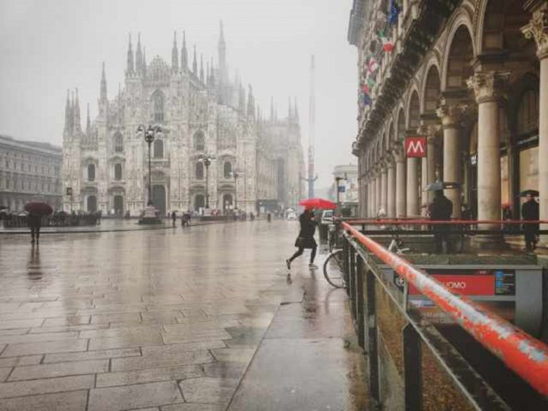 METEO MILANO: imminente arrivo della pioggia, vediamo le previsioni per le prossime ore
