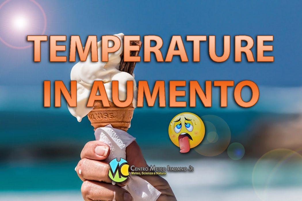 Condizioni meteo stabili e clima estivo tra Maggio e Giugno.