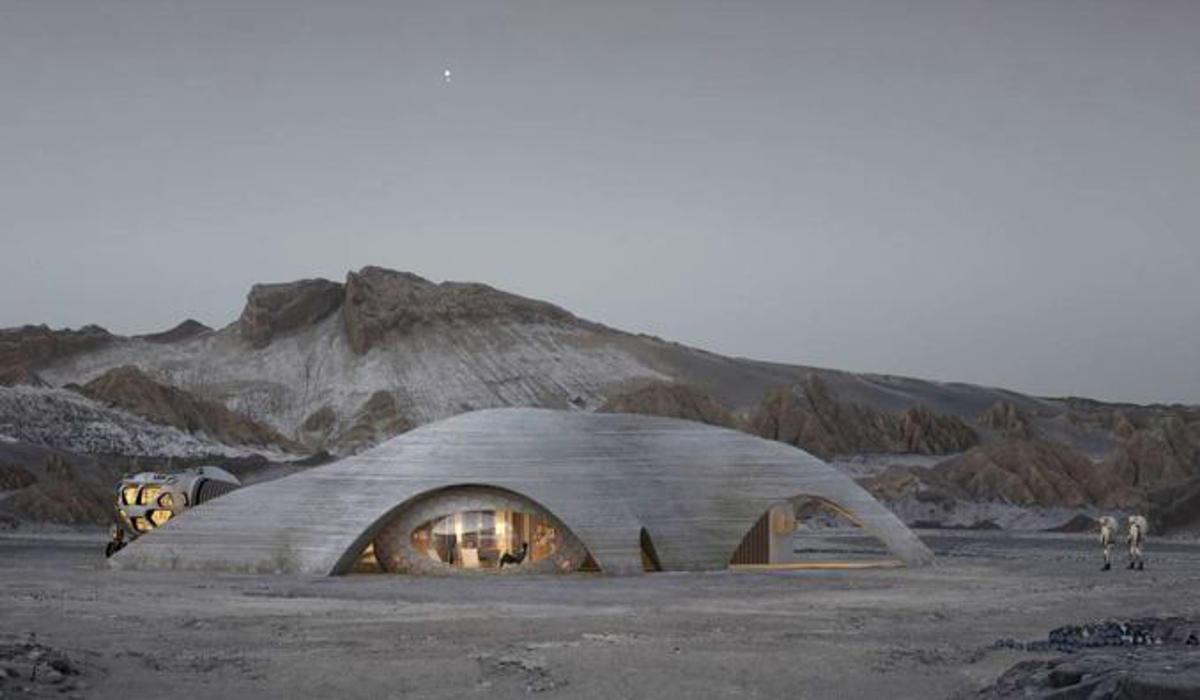 Marte, come saranno gli edifici umani