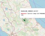 Terremoto oggi 10 giugno 2019