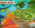 Anticiclone delle Azzorre con clima estivo ma senza caldo eccessivo