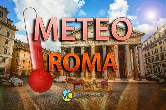 Meteo Roma: temperature in aumento e sole prevalente