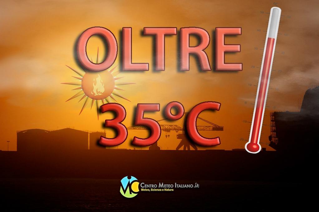 Clima estivo sull'Italia ma per la prossima settimana il caldo potrebbe tornare a farsi intenso per via dell'espansione dell'anticiclone africano.