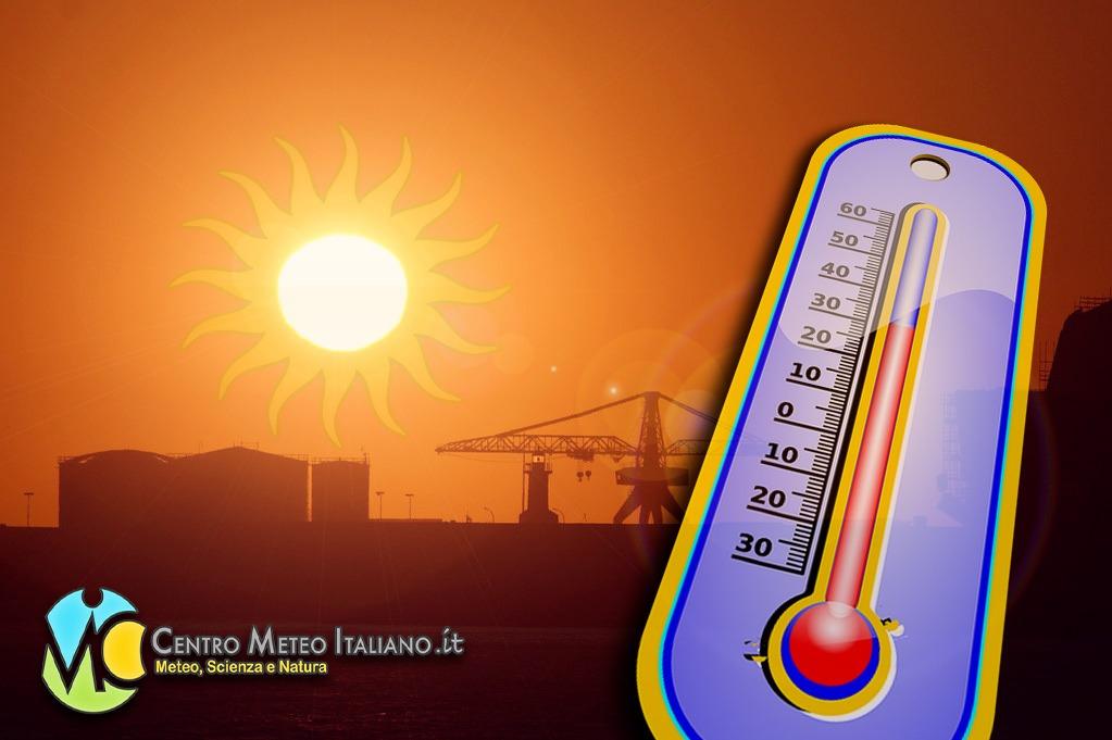 Temperature in aumento ma senza eccessi