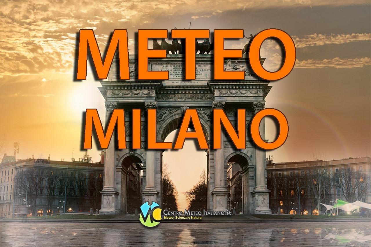 Previsioni meteo Milano.