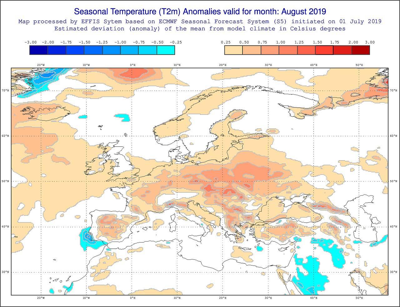 Pagina Calendario Agosto 2019.Previsioni Meteo Agosto 2019 Tendenza Temperature E Piogge