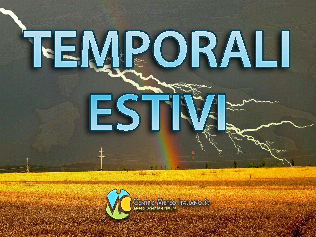 Break temporalesco con fenomeni specie al Nord Italia