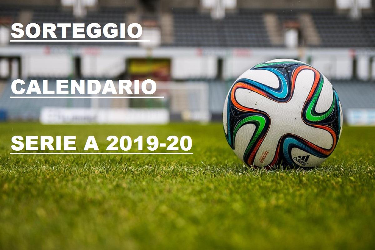 Calendario Serie A 2020 Diretta.Diretta Sorteggio Calendario Serie A 2019 2020 Live