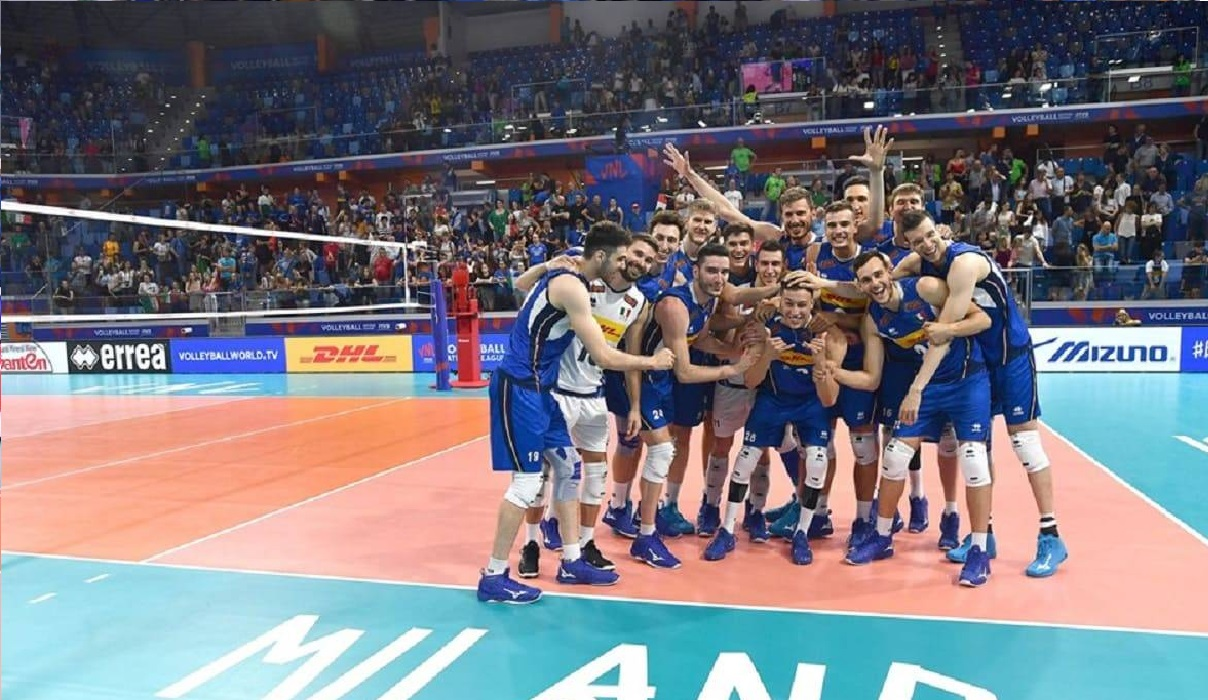 Calendario Volley Maschile.Volley 2019 Italia A Bari Per La Qualificazione Alle