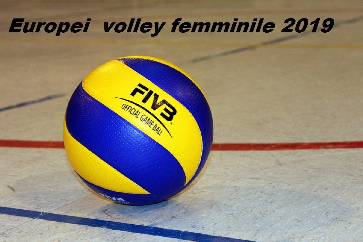 Calendario Mondiali Pallavolo.Volley Femminile Europei 2019 Calendario Ottavi Orari Tv