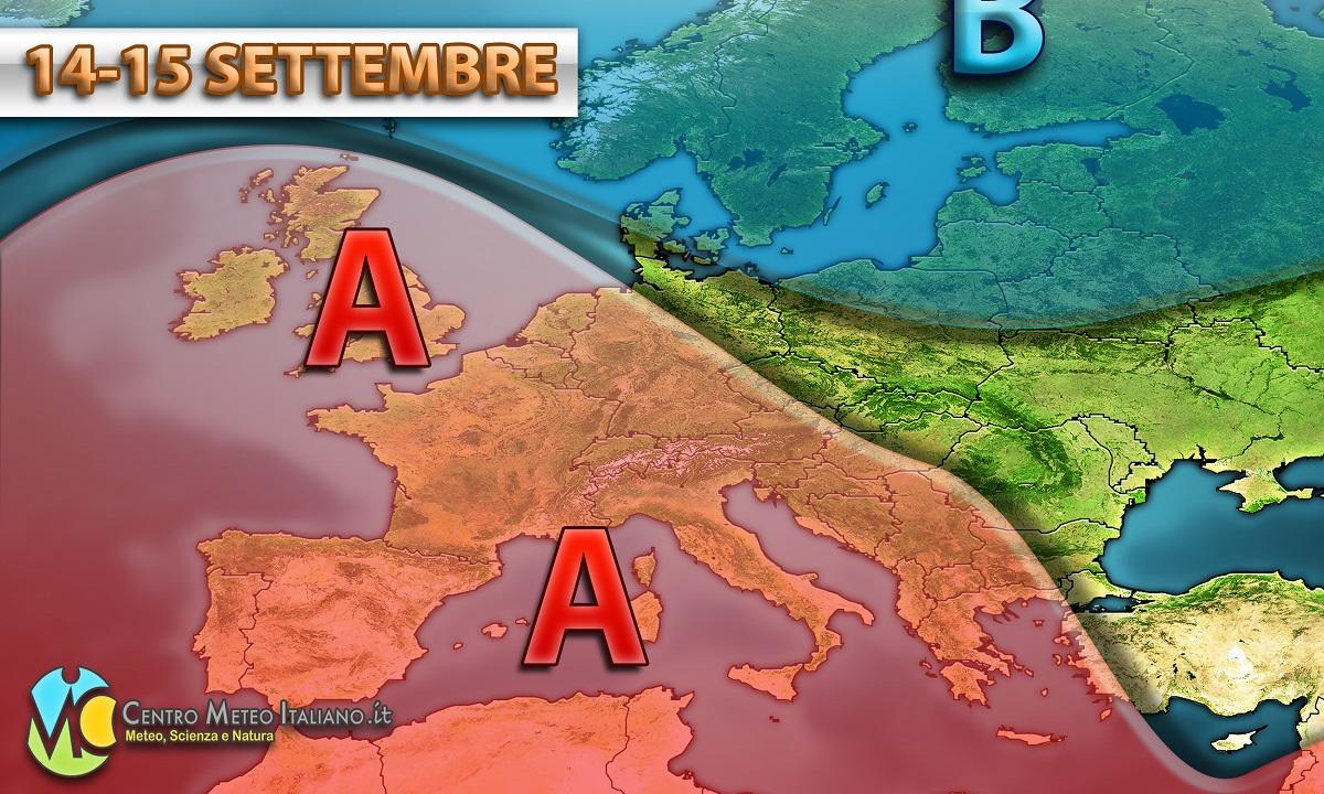 Condizioni meteo stabili anche in Italia nei prossimi giorni.