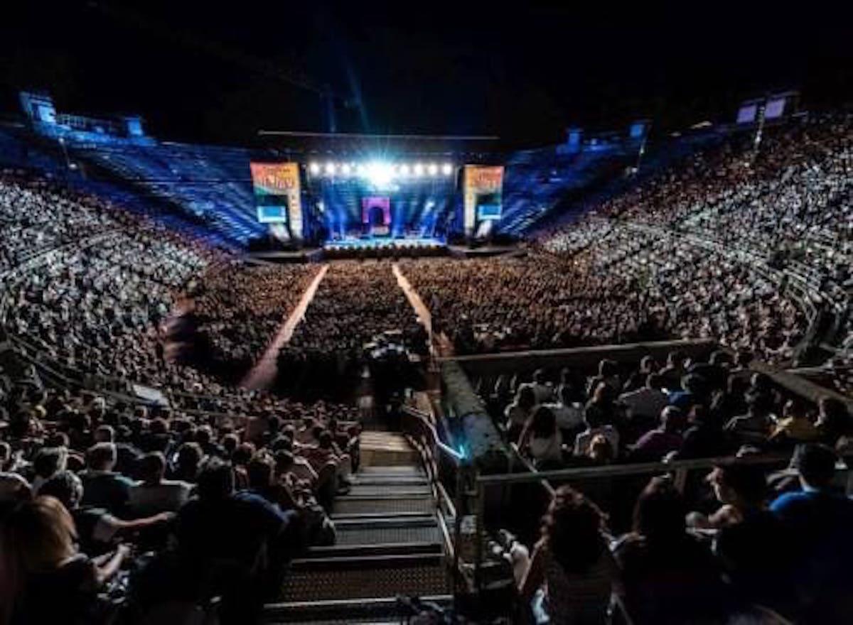 Meteo Verona, Eros Ramazzotti scaletta concerto Arena 14 ...
