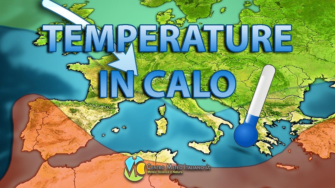 METEO - imminente CALO delle TEMPERATURE con possibile fase fresca prolungata alle porte!