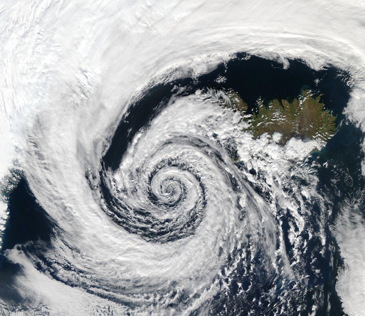 Ciclone mediterraneo in arrivo? Immagine di repertorio fonte Pixabay.