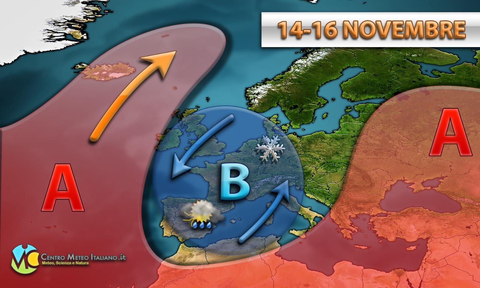 Nuova irruzione polare entro il prossimo weekend, affondo più occidentale rispetto agli ultimi rinvenuti.