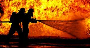 esplosione vigili del fuoco