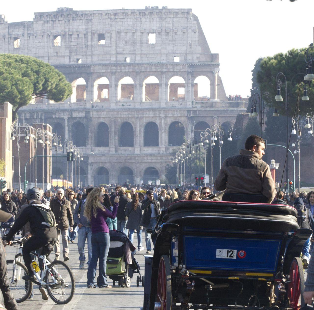 Previsioni meteo Roma, immagine di repertorio fonte ANSA.