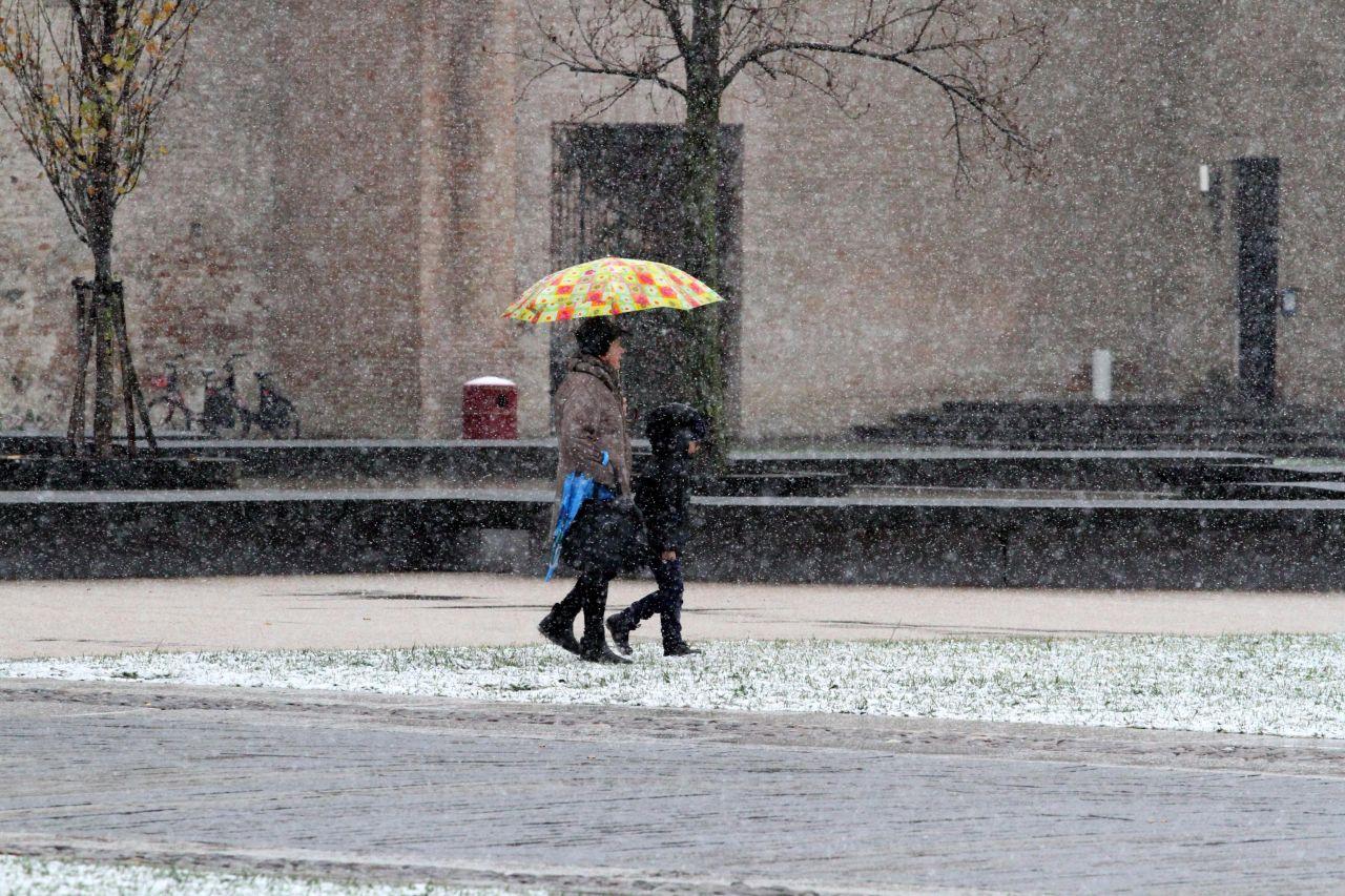 Neve, immagine di repertorio fonte ANSA