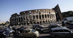 Domenica ecologica, blocco traffico a Roma