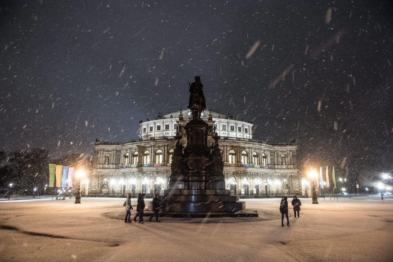 Neve, immagine di repertorio fonte ANSA.
