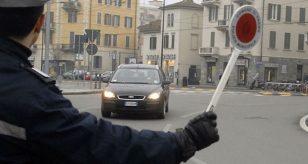 Blocco auto Torino, ottobre 2020