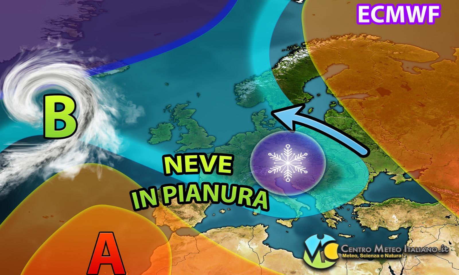 Il Freddo Quando Arriva meteo – anticiclone ko, torna il freddo artico con la neve
